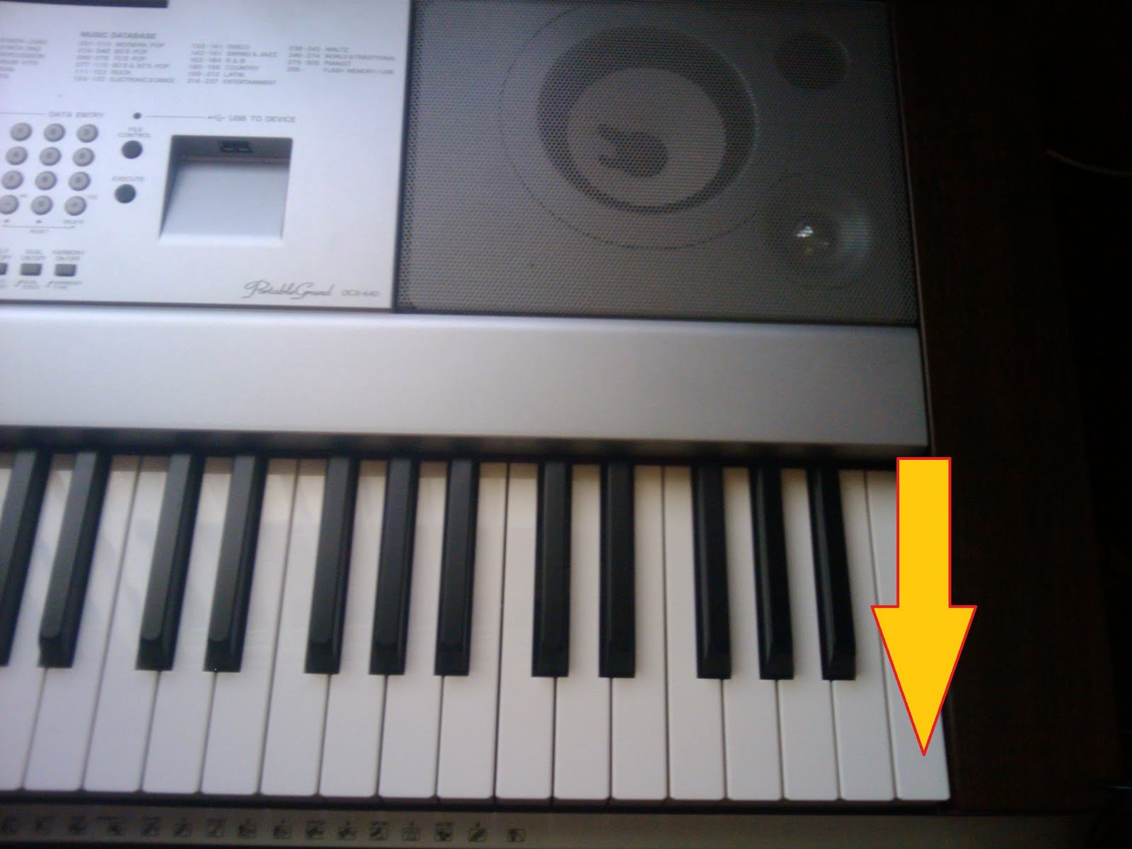 in my mind   : How to reset Yamaha YPG-640 / 635