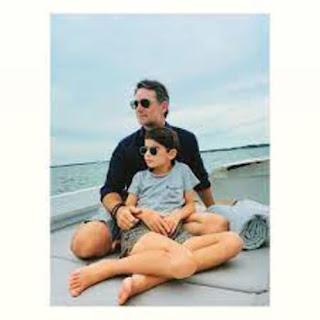 Gordon Bonding With His Son