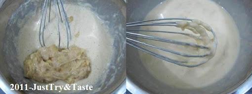 Resep Crepe Pisang Isi Coklat & Keju