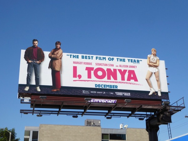 I Tonya movie billboard