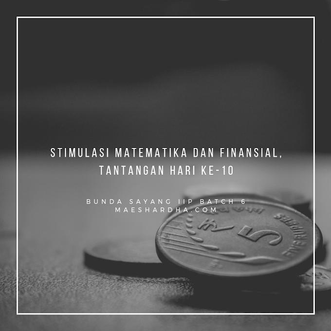Stimulasi Matematika dan Finansial, Tantangan Hari Ke-10