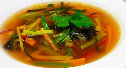 Consomme julienne Soup Recipe, How to make Consomme julienne