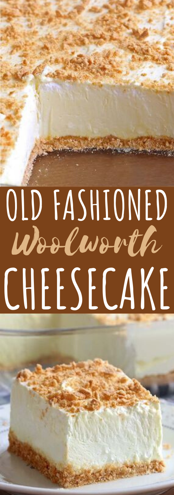 No Bake Classic Woolworth Cheesecake #desserts #cake #nobake #cheesecake #easy