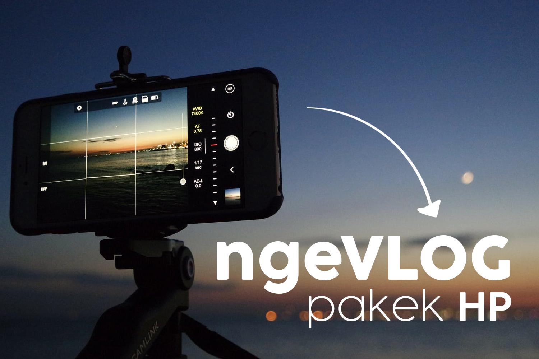 Cara Bikin VLOG Youtube di Hp + Aplikasi