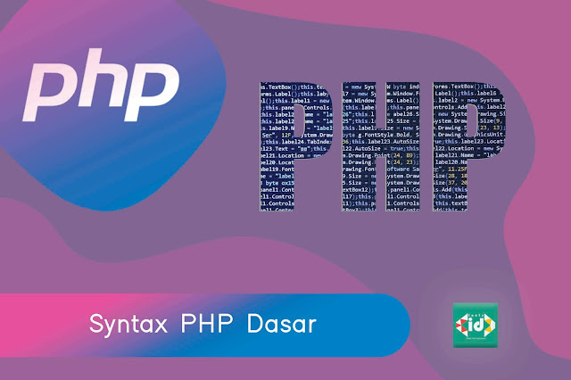 Syntax php dasar