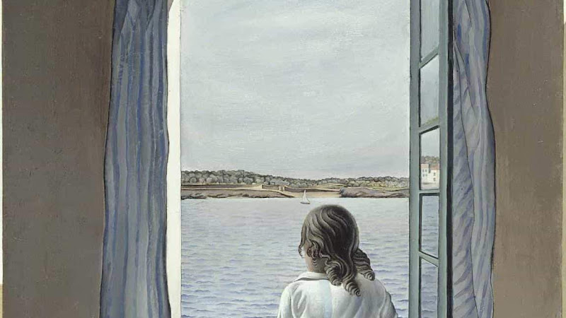 #663 En la ventana