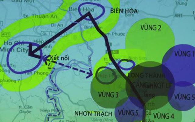 Quy hoạch sân bay Long Thành