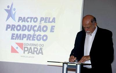 GOVERNADOR JATENE ANUNCIA PACTO PELA PRODUÇÃO E EMPREGO PARA ENFRENTAR A CRISE