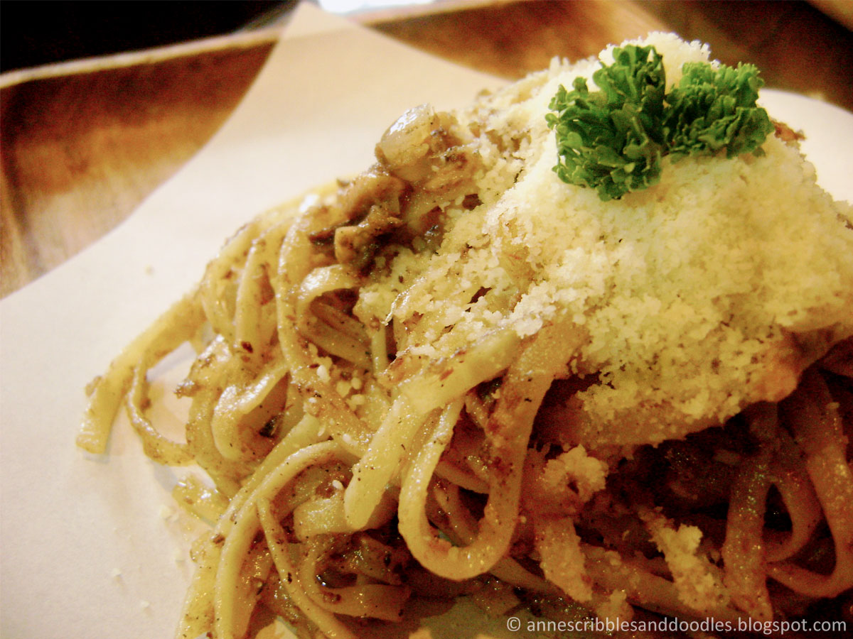 Nook Cafe, Maginhawa Street: Menu Item (Spicy Sardine Pasta)