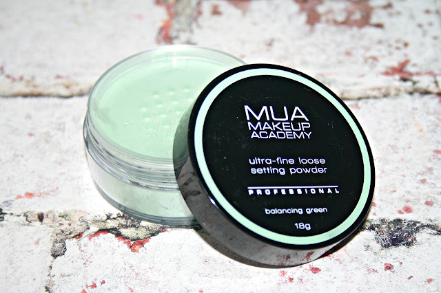 MUA Ultra-fine loose Setting Powders - Balancing Green