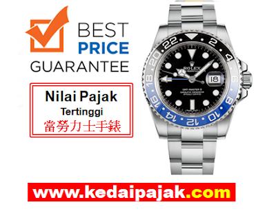 Pajak Jam Rolex GMT-Master-II Dengan 40,000