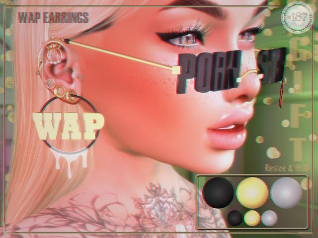 WAP Earrings GROUP GIFT