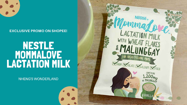 Nestle MommaLove Lactation Milk Exclusive Promo on Shopee!
