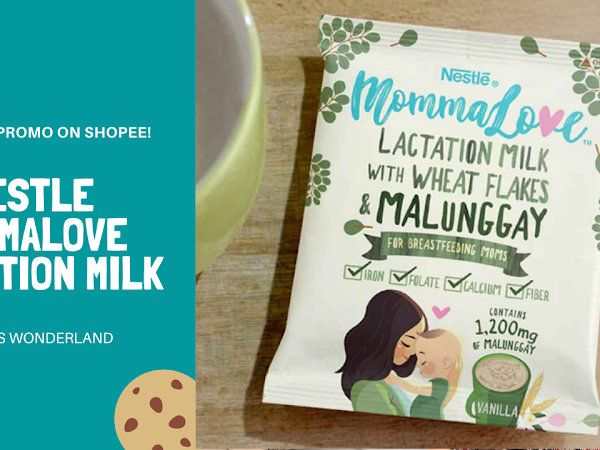 Nestle MommaLove Lactation Milk Exclusive Promo on Shopee!
