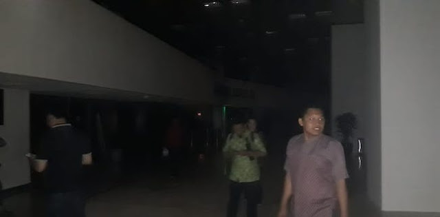 Jelang Pelantikan Jokowi-Maruf, Listrik Gedung DPR Padam Dua Kali