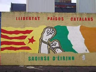 Saoirse d'Éirinn, llibertat països catalans