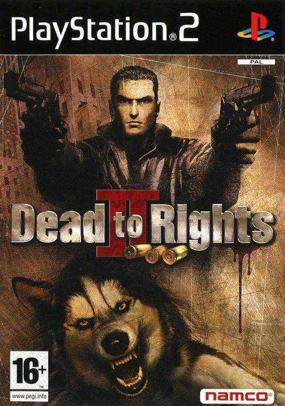 Dead to Rights II PAL PS2