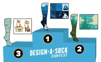Sock It to Me Design-a-Sock Contest 2019 | Prizes up to $2,000