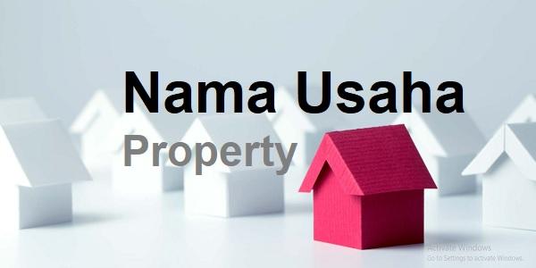 Nama perusahaan property