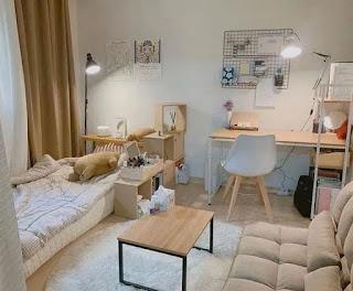desain minimalis kamar sederhana