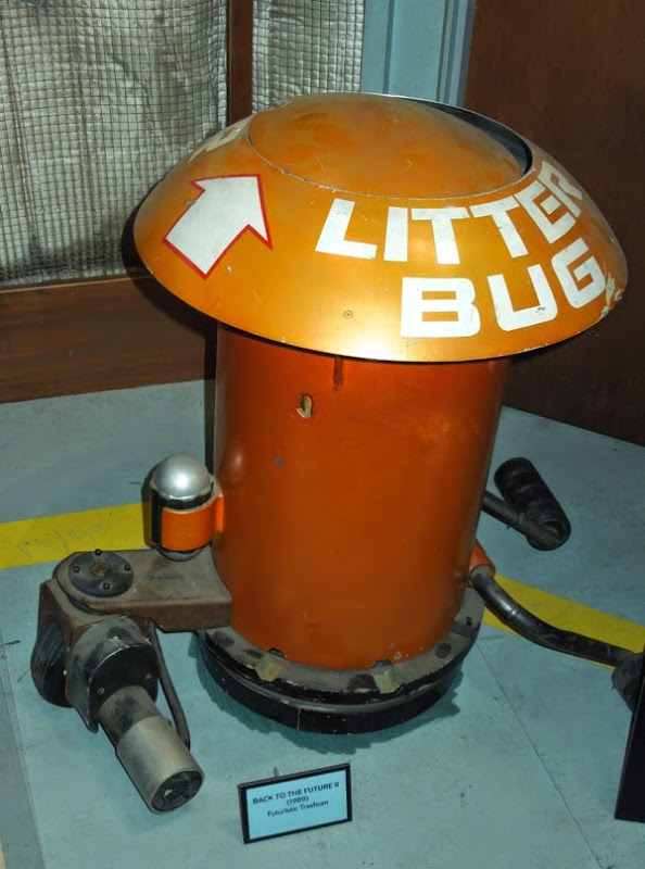 Back to the Future II Litter bug trashcan prop