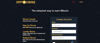 شرح موقع لجمع coins و سحب البيتكيون عند الدفع الحصول على 300coins في أول تسجيل