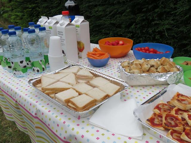 buffet festa di compleanno