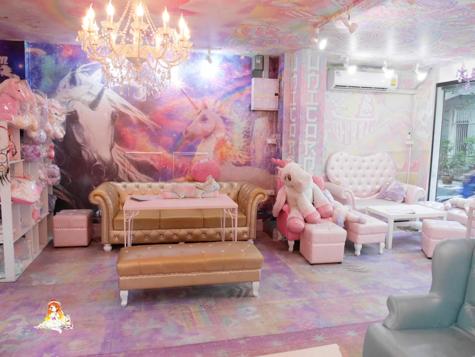 ✿ ❤ melody loves ❤ ✿: dreamy pastel cafe in bangkok - unicorn cafe