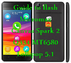 Guide to flash Micromax Canvas Spark 2 Q334 MT6580 Lollipop 5.1 Via Sp Flashtool Tested Method