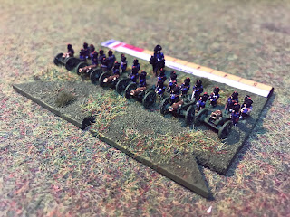 A Blucher battery in 6mm