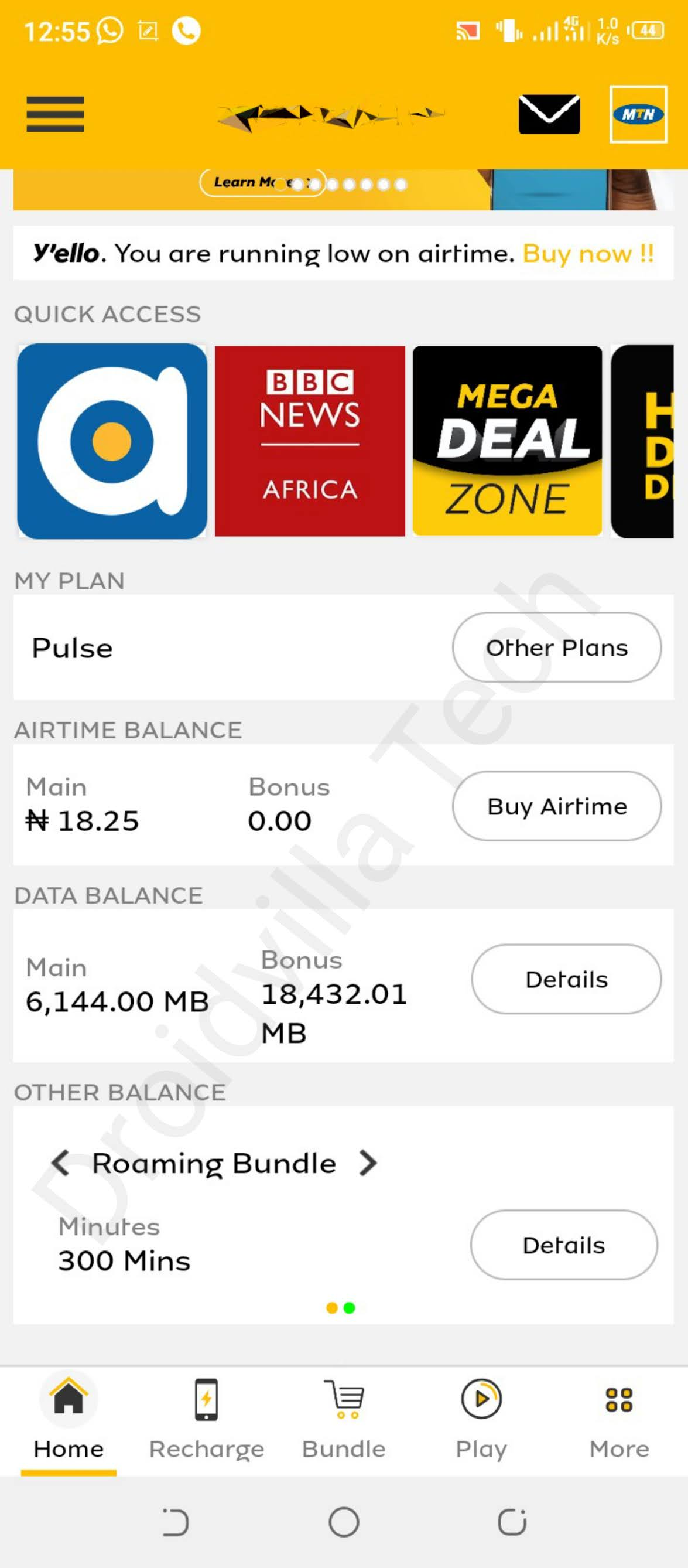 MTN 24Gb for N3000