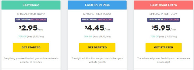 Fast Comet Web Hosting Offer