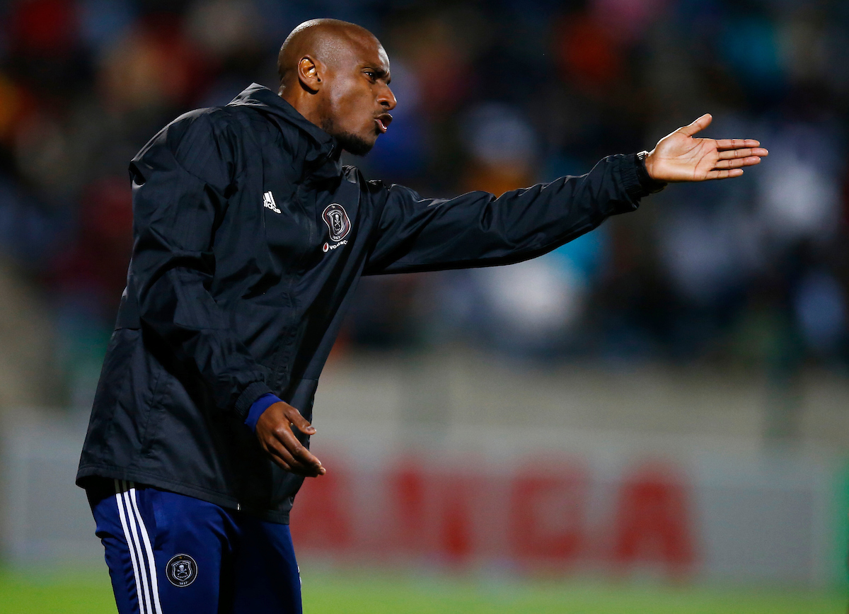 Orlando Pirates assistant coach Rhulani Mokwena