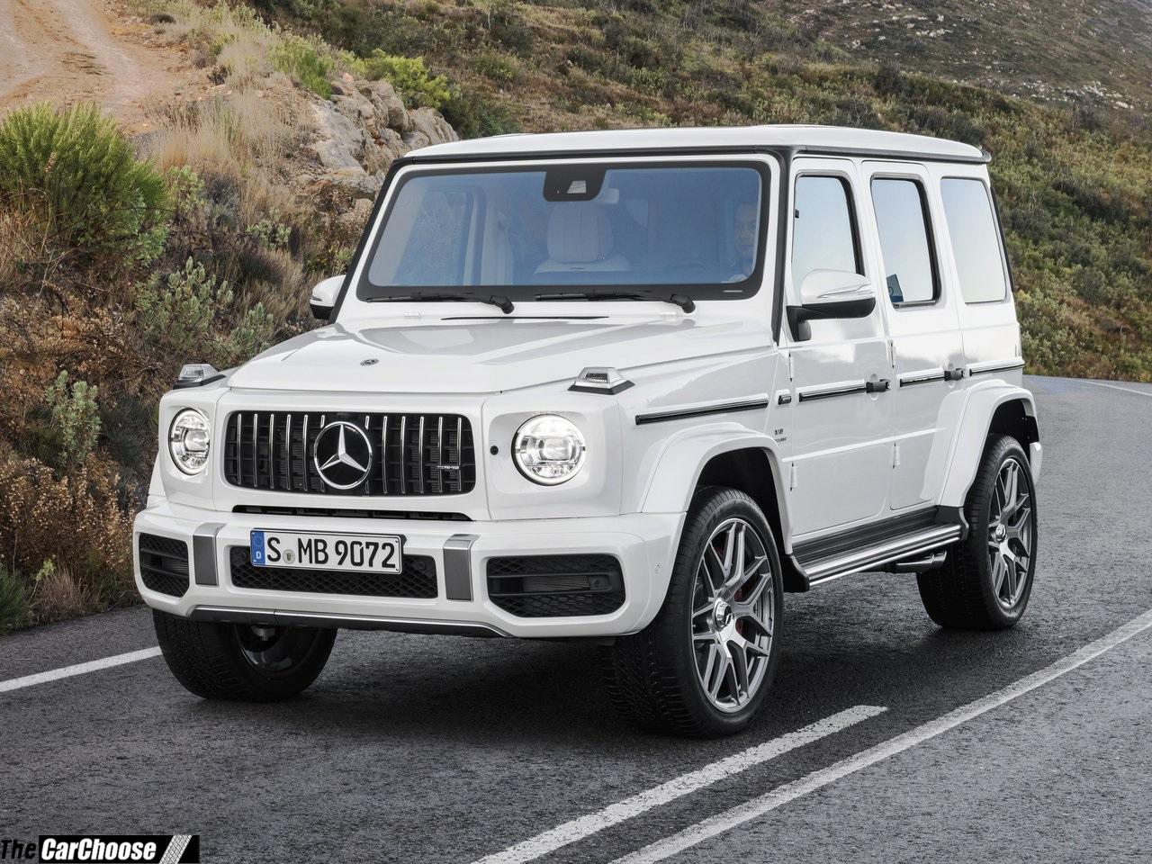 mercedes-benz g63 amg 2019 details