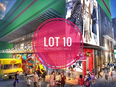 LOT 10 Tantalises with Sneak Peek of Reimagined Mall