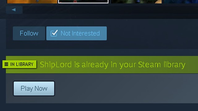 Shiplord, is now in Steam Library