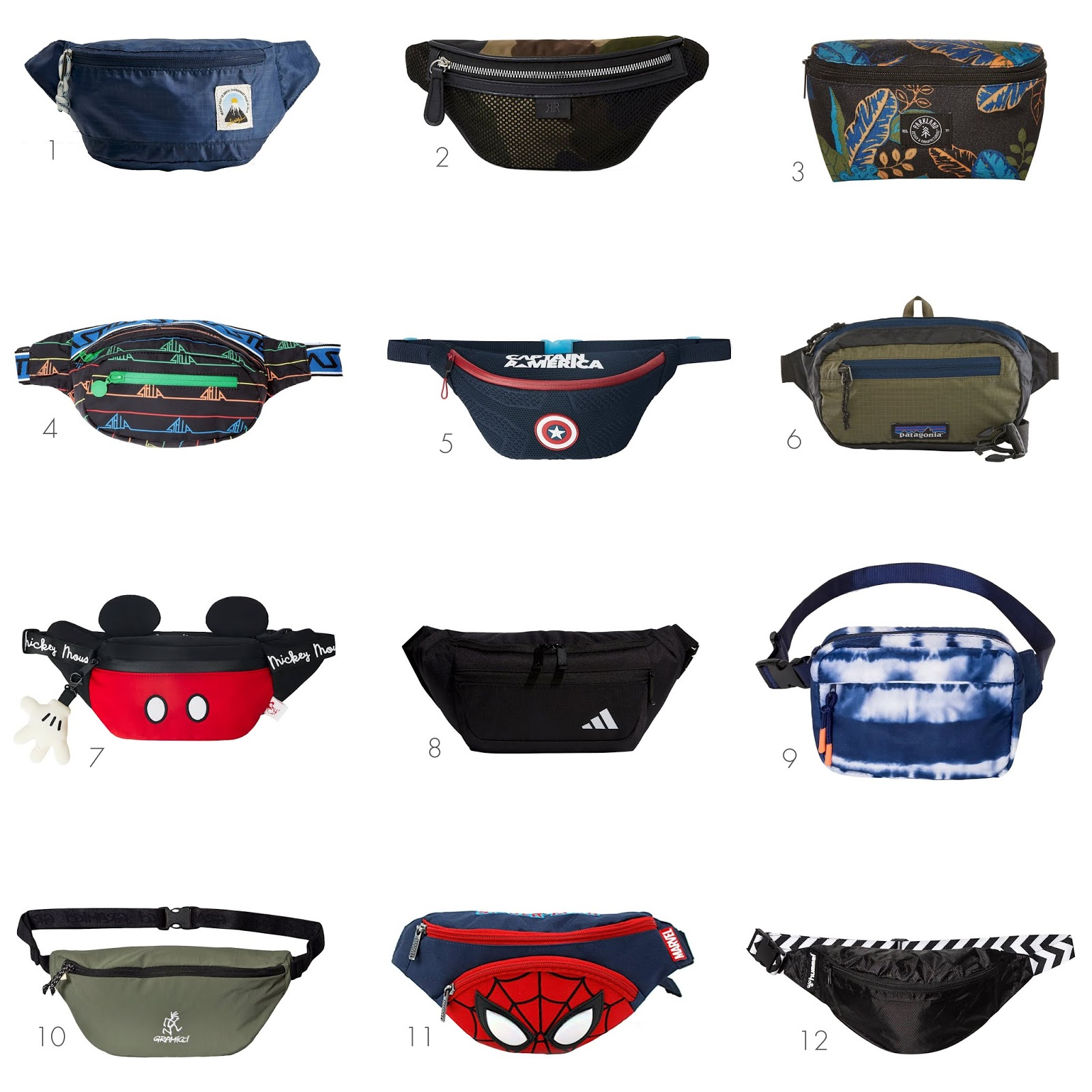 12 trendy and modern fanny packs for boys