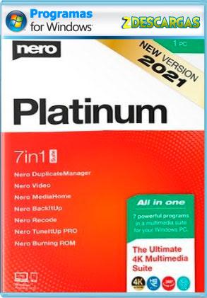 Nero Platinum Suite 2021 v23 Full (Español) [Mega]