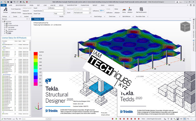 Trimble Tekla Structural Design Suite 2020 TSD v22.0 Tedds.v22.1