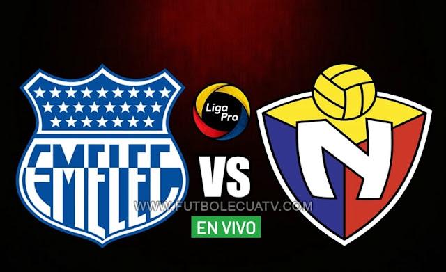 Emelec y El Nacional se enfrentan en vivo a partir de las 20h30 hora local, por la jornada trece del campeonato ecuatoriano, siendo emitido por GolTV Ecuador a efectuarse en el estadio George Capwell. Con arbitraje principal de Jaime Sánchez.