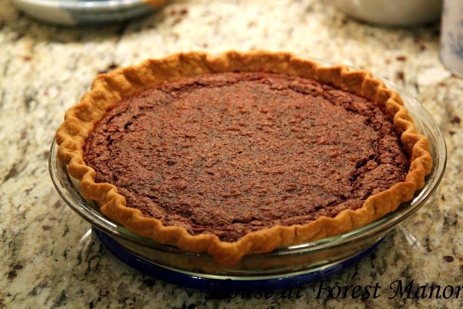 """Minny's Chocolate Pie"""