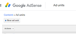 New Ads Unit | Google Adsense