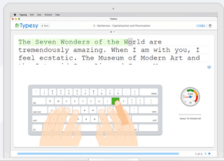Detailed Lesson Plans and Interactive Games to Teach Students Typing