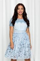 Rochie de ocazie Marilena bleu