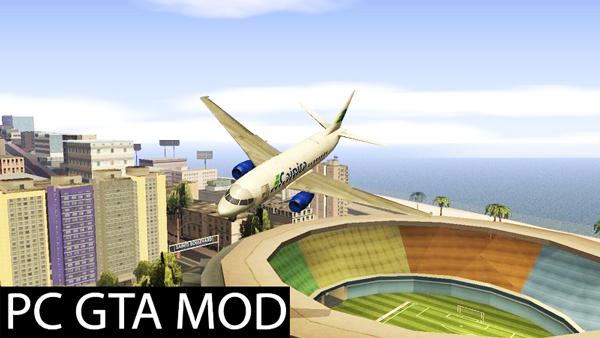 Free Download  At400 - Caipira (GTA V) - TC GTA Brasil  Mod for GTA San Andreas.