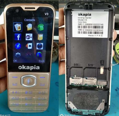 Okapia V3 flash file