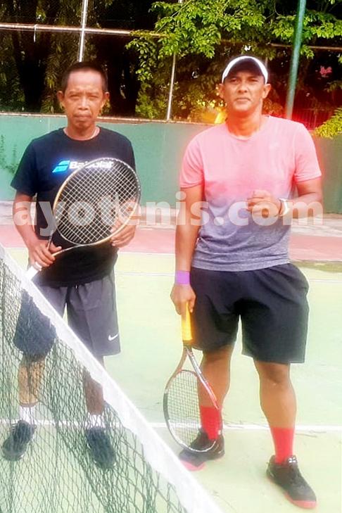 Kusmeidi/Rudi Melaju ke Final PELTI Sidoarjo Tennis Tournament 2020