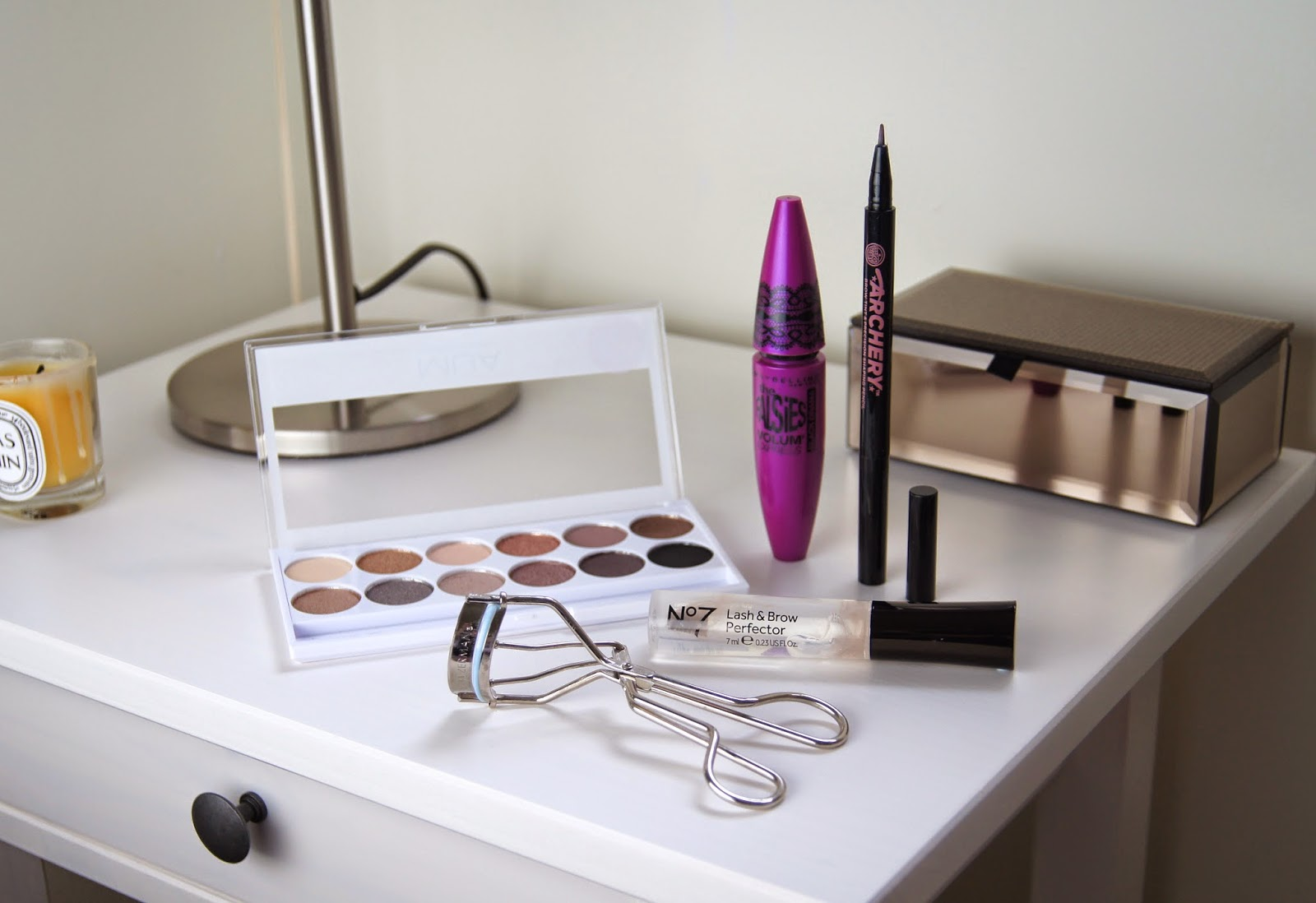 ford complexion eye makeup products drugstore back to school look