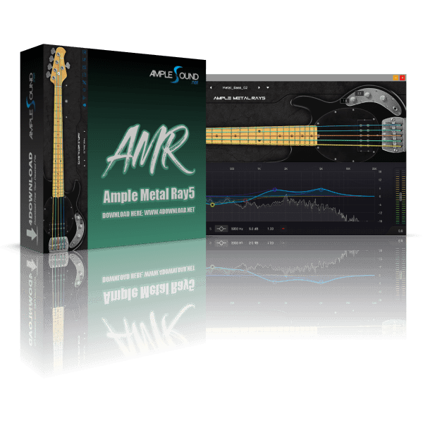 Ample Metal Ray5 III v3.3.0 Full vesion