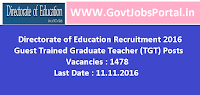 Directorate of Education Recruitment